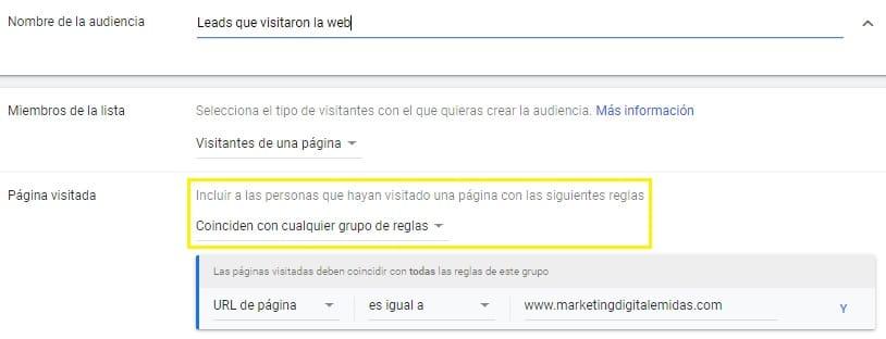 publicidad en google remarketing lima